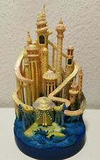 Disney limited Castle Collection Ariel Arielle Light Up Schloss 8/10