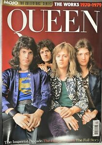 MOJO COLLECTORS SERIES MAGAZINE  - QUEEN THE WORK 1970-1979 -  BRAND NEW