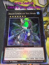 OCCASION Carte Yu Gi Oh DRAGON SUPREME AUX YEUX IMPAIRS PEVO-FR023 1ère édition