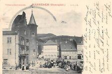 CPA 68 MARKIRCH BLUMENPLATZ (dos non divisé) ANNEE 1899
