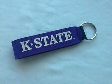 K State Kansas State University Wildcats Key Chain Fob Wrist Purple New