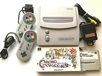 Nintendo Super Famicom Junior SHVC-101 Used Special Pack with Chrono Trigger JP