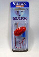 Blue Fox Super Vibrax 3/8 Red Bleeding Silver Blue Treble Siwash Fishing Lure