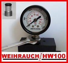 Regulator Pressure Testing Gauge + TEST PORT SEAL KIT for WEIHRAUCH HW100 /101