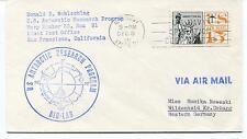 1962 Donald E. Wohlschlag Antarctic Research Program BIO-LAB Polar Cover