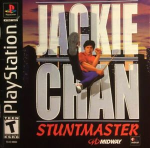 - Jackie Chan Stuntmaster PS1 Replacement Box Art Case Insert Cover Only