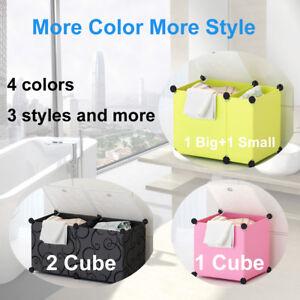 Waterproof Color Laundry Bathroom Storage Basket Washing Hamper Box Toy Clothes