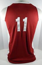 Alabama Crimson Tide #11 Game Used Red Jersey