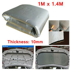 1M x 1.4M 10mm Closed Cell Foam Car Sound Deadener Insulation Noise Proofing NEW