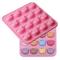 Mini Cartoon Pig Face 3D Silicone Mould Mini Moulding Sweets Shaping Bake Tool