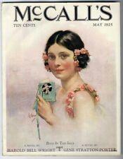 Dance Card McCall'S Magazine 1925 Neysa McMein Pretty Woman Circus Paper Dolls