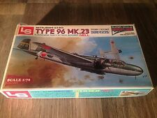 LS 1:72 Mitsubishi G3 M3 Type 96 Mk.23 Japanese Navy Attack Bomber Nell