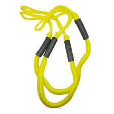 2PCS Marine Bungee Dock Line Boat Mooring Rope Anchor Cord Stretch Yellow NEW
