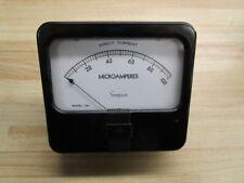 Simpson 45396 Meter Model 29 0-100 Microamperes