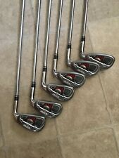 TaylorMade Burner XD Iron Set 6-Iron to A-Wedge Steel Stiff 90g Shaft Winn Grip