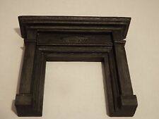 doll house emporium furniture black resin victorian fireplace 1.12th scale  lot4
