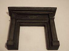 Doll House Emporium Muebles chimenea de resina negra Victoriano Escala 1.12th lot4