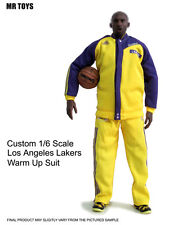█ Custom Lakers Kobe Bryant 1/6 Warm Up Suit Jersey for Enterbay Jordan Body █