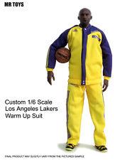 █ Custom Lakers Kobe Bryant 1/6 Warm Up Suit Jersey for Enterbay Jordan Body █