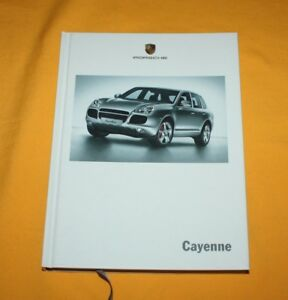 Porsche Cayenne 2005 Prospekt Brochure Depliant Folder Catalog Prospetto