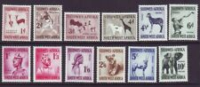 South West Africa 1954 SC 249-260 MH Set