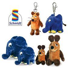 Schmidt Spiele - Die Sendung mit der Maus Plüschtiere Elefant Schlüsselanhänger