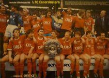 Schönes Poster 1.Fc Kaiserslautern  , Meister 1991