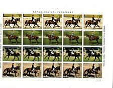 SPECIAL LOT Paraguay 1988 2243 - Seoul Olympics - 5 Full Sheets - MNH