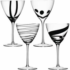 LSA BLACK JAZZ Calici da Vino-Set di 4