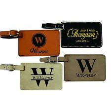 4d1d9d2e608a Leather Travel Luggage Tags for sale | eBay