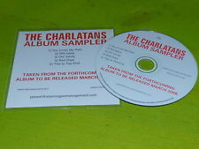 THE CHARLATANS - ALBUM SAMPLER 2008  !!!!!!RARE CD PROMO!!!!!!!!!