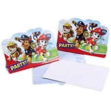 Paw Patrol, Einladungskarten, 8er
