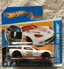 2012 Hot Wheels Blanco'11 Corvette Grand Sport