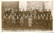 Marple WW1 Defence Corps 1915