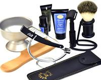 TAKAHASHI SHAVING STRAIGHT RAZOR W/ 100 Free blades Shave Ready