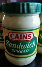 CAINS Sandwich Spread 15 Oz Jar New England Boston Caines Food Condiment Canes