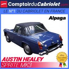 Capote Austin Healey Sprite MK3 cabriolet - Alpaga Stayfast®
