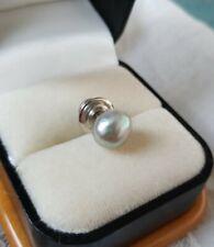 Vintage Pearl Tie Tac / Pin Twist Back