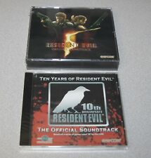 RESIDENT EVIL 5 Soundtrack and TEN YEARS OF RESIDENT EVIL Soundtrack - NEW!