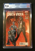 Darth Vader #3, CGC 9.6, (2nd Print), Red Cover, Doctor Aphra, Star Wars