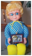 """Laminated Mrs. Beasley Magnet! (Star of """"Family Affair""""/Buffy's Doll!)(Ornament)"""