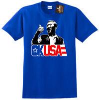 OK USA Retro Film Movie T shirt - Bloodsport inspired Fan Shirt unofficial