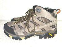 Merrell Moab 2 Mid Ventilator Hiking Boot Walnut Men's Size 8.5 W, MSRP $169