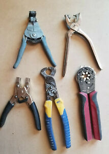 Lot of 5 Mixed Assorted Special Hand Tools