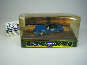 Corgi Toys 1/43 Porsche Open top 356 96360 cochesaescala D 743/1