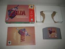 Legend of Zelda Ocarina of Time Master Quest N64 Nintendo 64 Complete in Box CIB