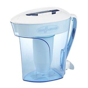 Best Water Filter Pitcher Low TDS 5 Phase Zero 0 Half Gallon 10 Cup NSF Certifie