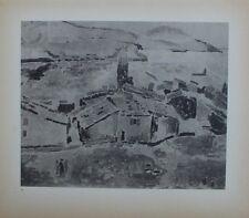 Henri Matisse Lithograph Chroniques du Jour 9 Vue Collioure First Edition 1935