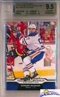 2015/2016 UD Connor McDavid Collection #8 ROOKIE BGS 9.5 GEM MINT Oilers !!