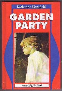 GARDEN PARTY - Katherine Mansfield - Libro Nuovo in Offerta!